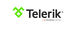 Telerik a Progress Company logo