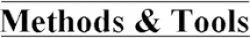 Methods & Tools logo