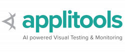 Applitools​: AI-powered Visual Testing and Monitoring logo